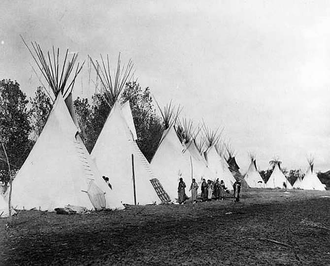 essay on crow indians