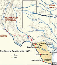Fort Clark > Battles for the Nueces Strip on