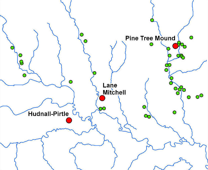 Pine Tree Mounds Sabine River Map on chattahoochee river map, wabash river map, united states river map, brazos river map, rio negro river on a map, ohio river map, guadalupe river map, bayou lafourche map, st. johns river map, calcasieu river map, colorado river map, dallas river map, trinity river map, pecos river map, galveston bay river map, tennessee river map, san joaquin river on a map, james river map, arkansas river map, willamette river map,